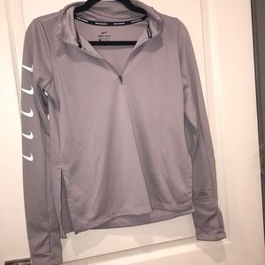 Nike running long sleeved dri-fit shirt